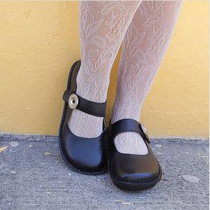 Alegria Leather Mary Jane Paloma Nursing Shoes
